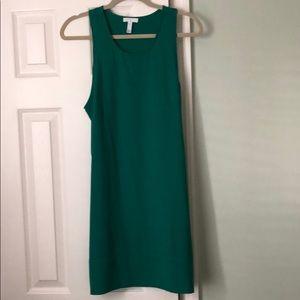 Jade green shift dress